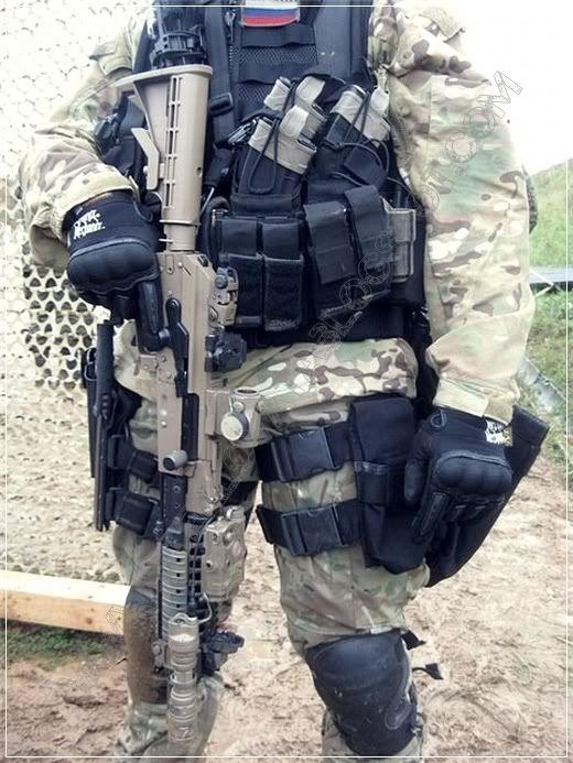 Russian AK operator