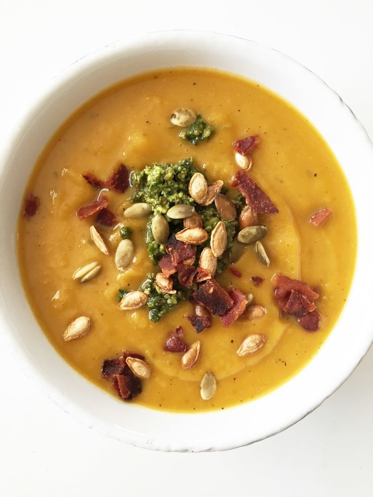 Skinny Butternut Squash & Apple Soup — The Skinny Fork