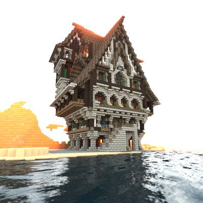 Medieval house i made in minecraft. Download link: http://www.minecraft-schematics.com/schematic/3313/
