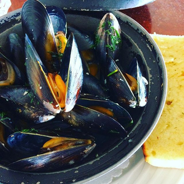 #fresh #mussels nice and big this time 😎 #sockeyecity #Steveston