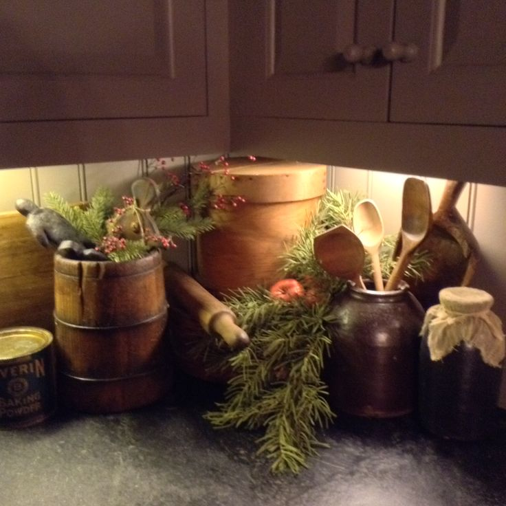 Country Kitchen Christmas Decorations: 1807 Best Images About Country Style Decorating On