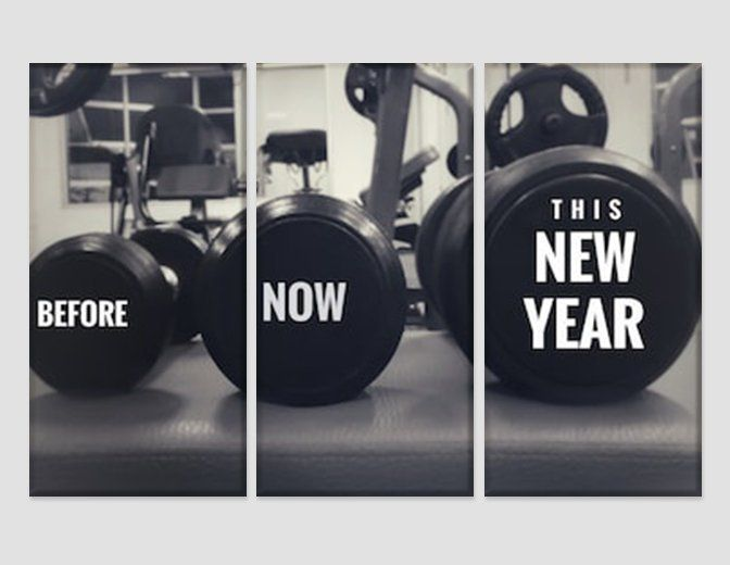 Photo Sport Weightlifting Gym Fitness Weights Giant Wall Art Poster Print