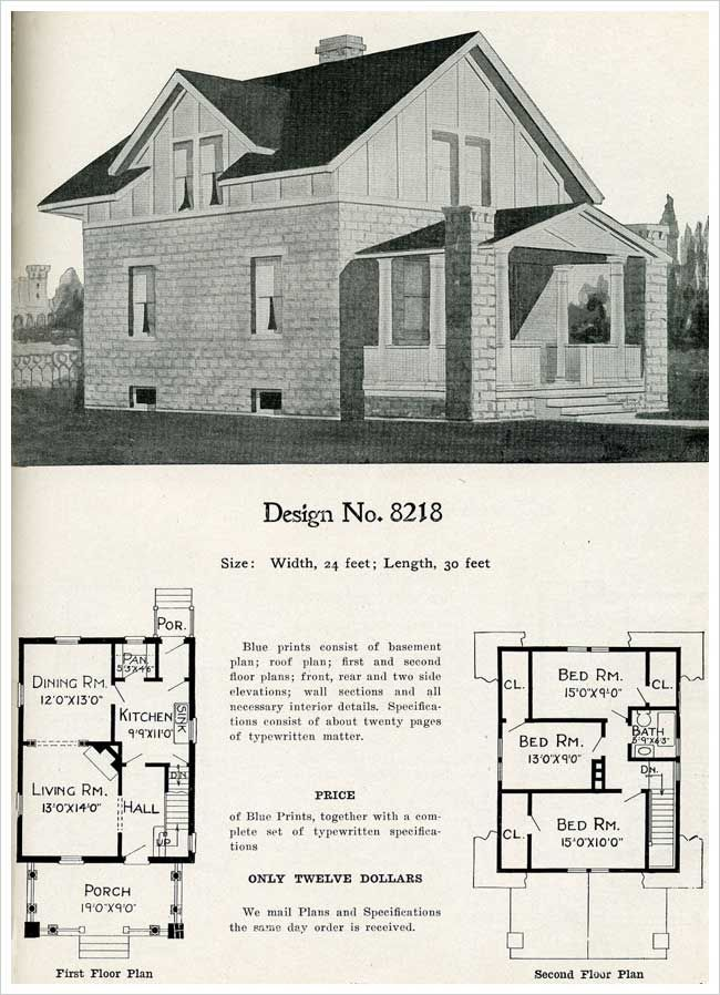 17 best images about cement block houses on pinterest for Half timbered house plans
