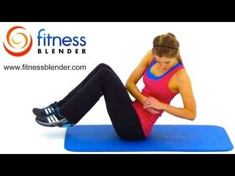 10 Min Abs Workout -- At Home Abdominal and Oblique Exercises
