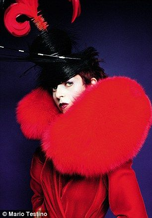"Isabella Blow (1997)This reminds me of the movie Hunger Games. ""May the odds forever be in your favor""!"