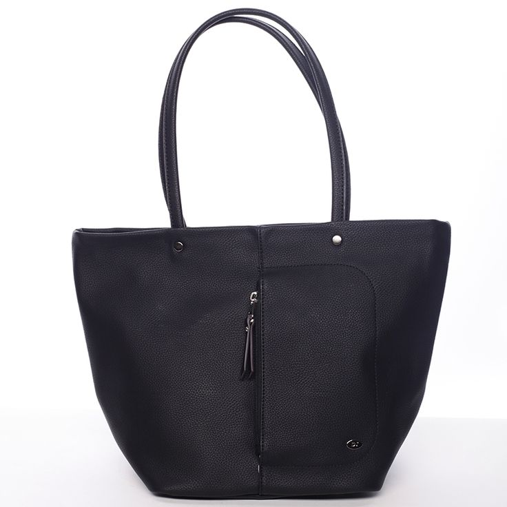 Stylová černá kabelka Sebastiana značky David Jones. #kabelka #kabelky #móda #David #Jones #černá