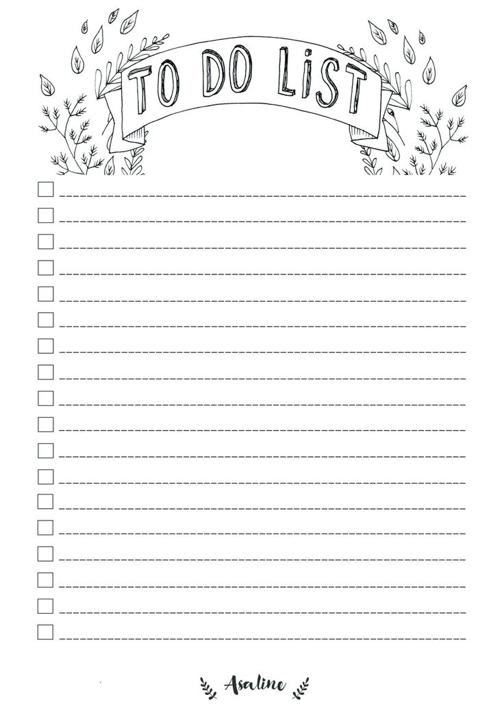 printable to do list | Tumblr | to do list tumblr