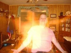 """This ghost photo was sent by Regina Connors of Rconnors82@aol.com. Regina said, """"I live in a haunted house in NC. This is my second, I also..."""