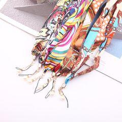 Свежие ткани шарф платье с Перл Холтер веревка работы карта камера ключа телефона оболочка мобильного телефоном шнур ремешками