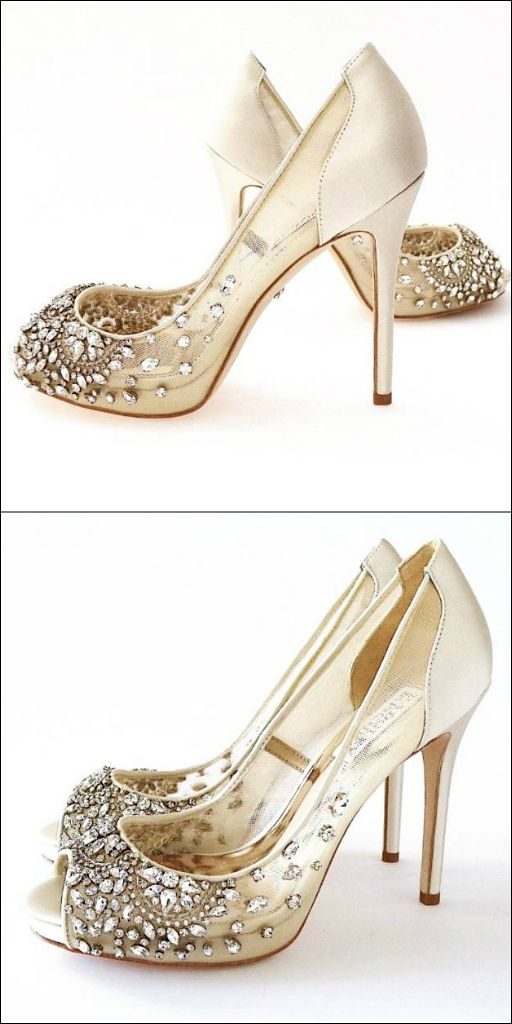 Badgley Mischka Wedding Shoes Serious Sparkle Who Can Resist