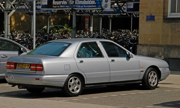 My beautiful Lancia Kappa, owned since 2001. Still going strong. Pictured here in front of Karlsruhe Hauptbahnhof, July 2011