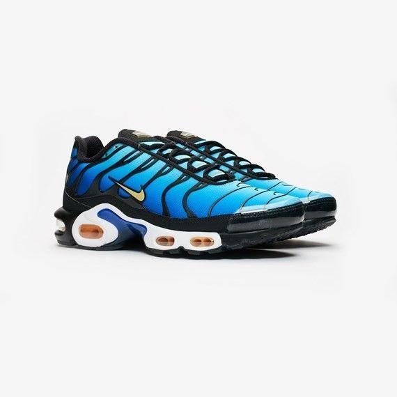 b7dbe8eda0 Men's Nike Air Max Plus OG Black/Chamois-Sky Blue-Hyper Blue BQ4629 Size 10  #fashion #clothing #shoes #accessories #mensshoes #athlet…