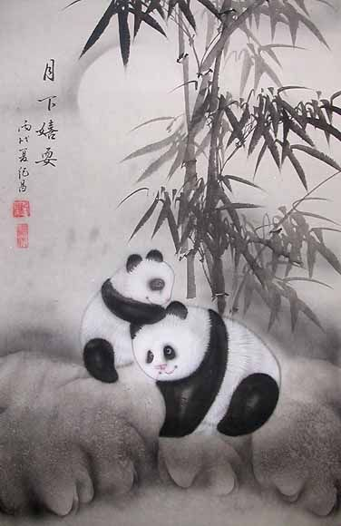 Traditional Chinese Paintings - This is an Original Chinese Art Painting