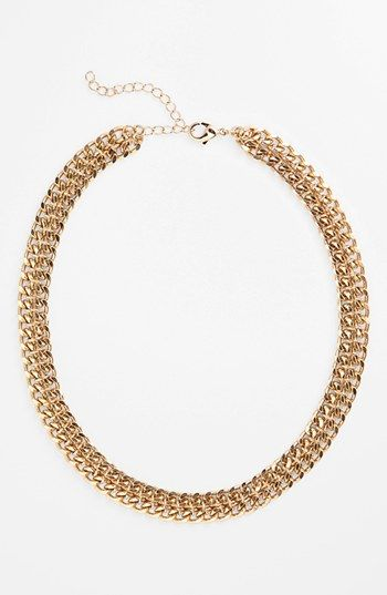 Stephan & Co. Double Chain Link Necklace (Juniors) (Online Only) available at #Nordstrom $18