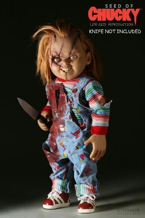 Sideshow Seed Of Chucky Life size doll 1:1 Scale prop Child's Play No Medicom