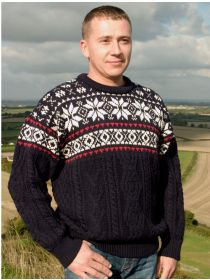 Unisex Festive crew neck sweater C4570