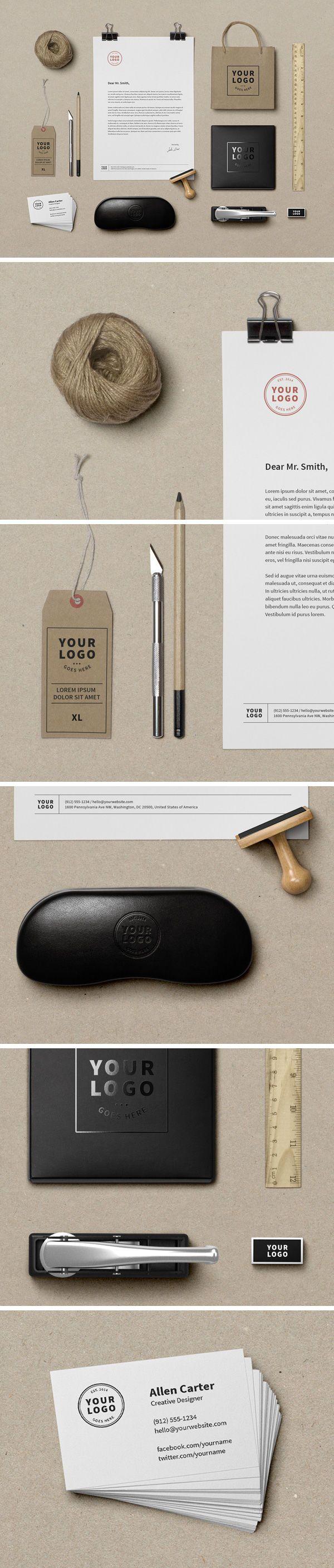 Free Branding Mockup | Abduzeedo Design Inspiration