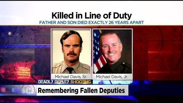 Placer County Sheriff's Deputy Killed 26 Years To Day Of Father's On-Duty Death