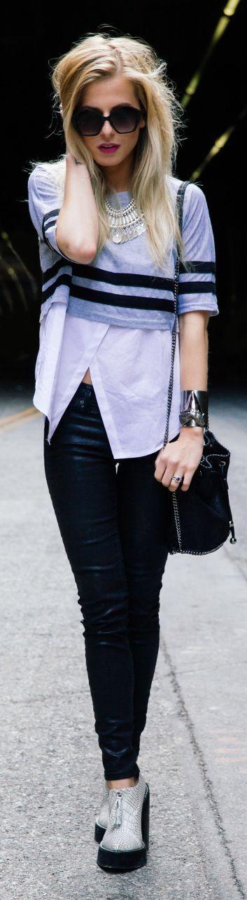 Stella Mc Cartney Black Chain Hobo Shoulder Bag