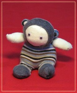 Sock puppet - handmade