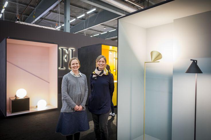 Editors' Choice 2016 - Best stand Nominee Producer: Flos, stand A18:20  Designer: Anna Hytönen and Åsa Johansson, Flos Foto: Gustav Kaiser