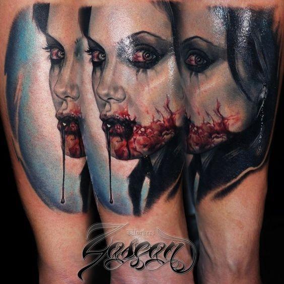 1000+ Ideas About Vampire Tattoo On Pinterest