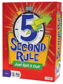 5 Second Rule the board game