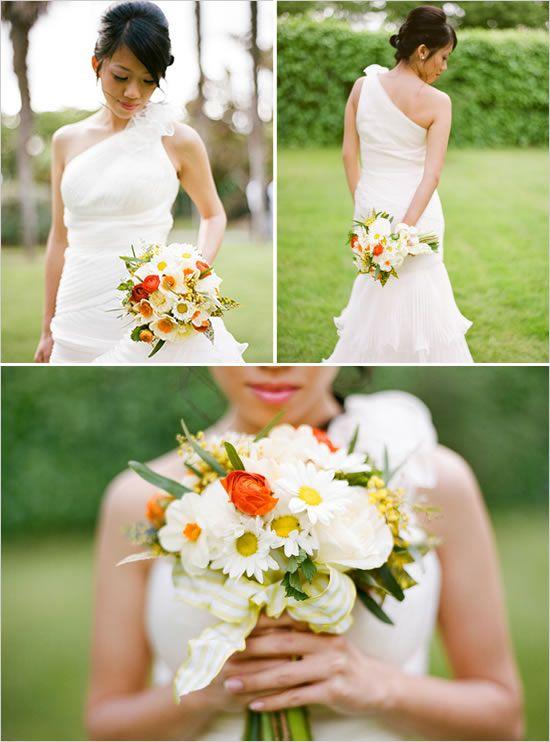 Bouquet de mariage de marguerite