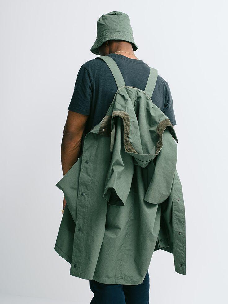 """gentrynyc: """" Poncho / Engineered Garments """""""