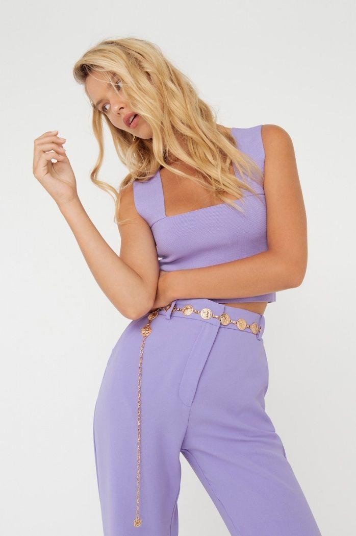 da709512d136 Gemma pant in 2019   SHEIKE Fashion   Tops, Knitting, Crop tops