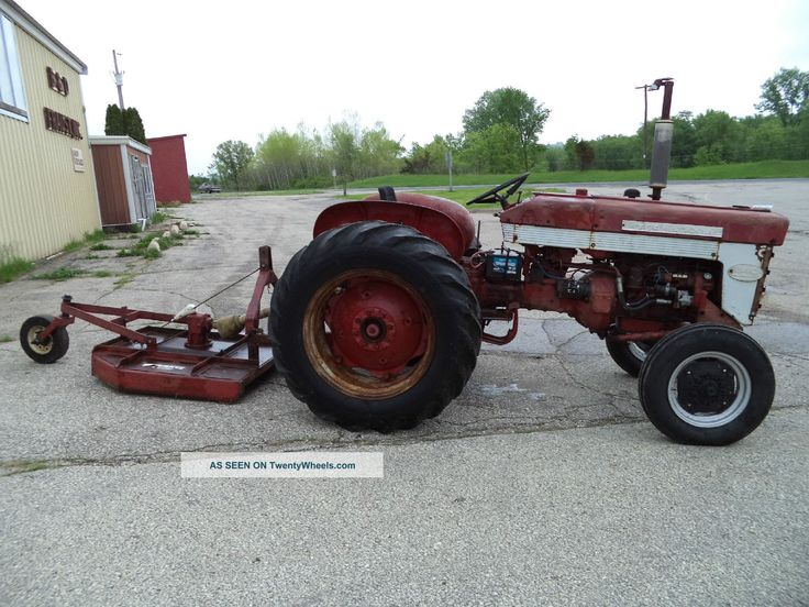 1960 340 International Utility Tractor : Best ih tractors images on pinterest
