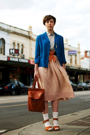 this has essentially become my winter uniform. knee length skirts, collars and sensible shoes.