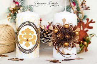 Свечи праздничные
