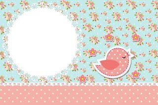 Neşeli Süs Evim - Ücretsiz Doğum Günü Süsleri: Vintage Kuş Temalı Ücretsiz Parti Seti
