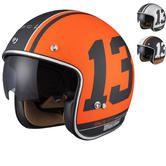 Limited Edition Black 13 Motorcycle Helmet