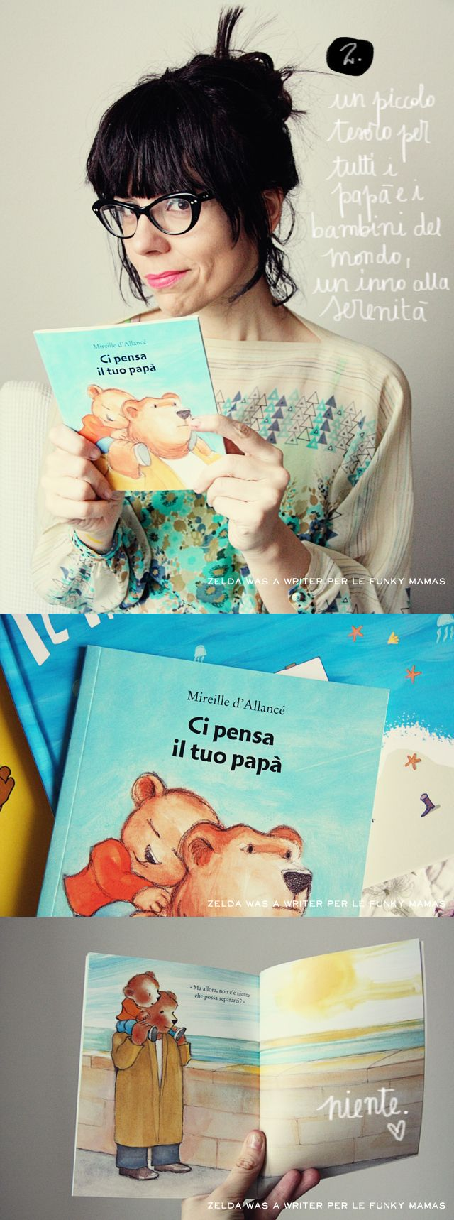 Festa del papà - Ex Libris per LE FUNKY MAMAS