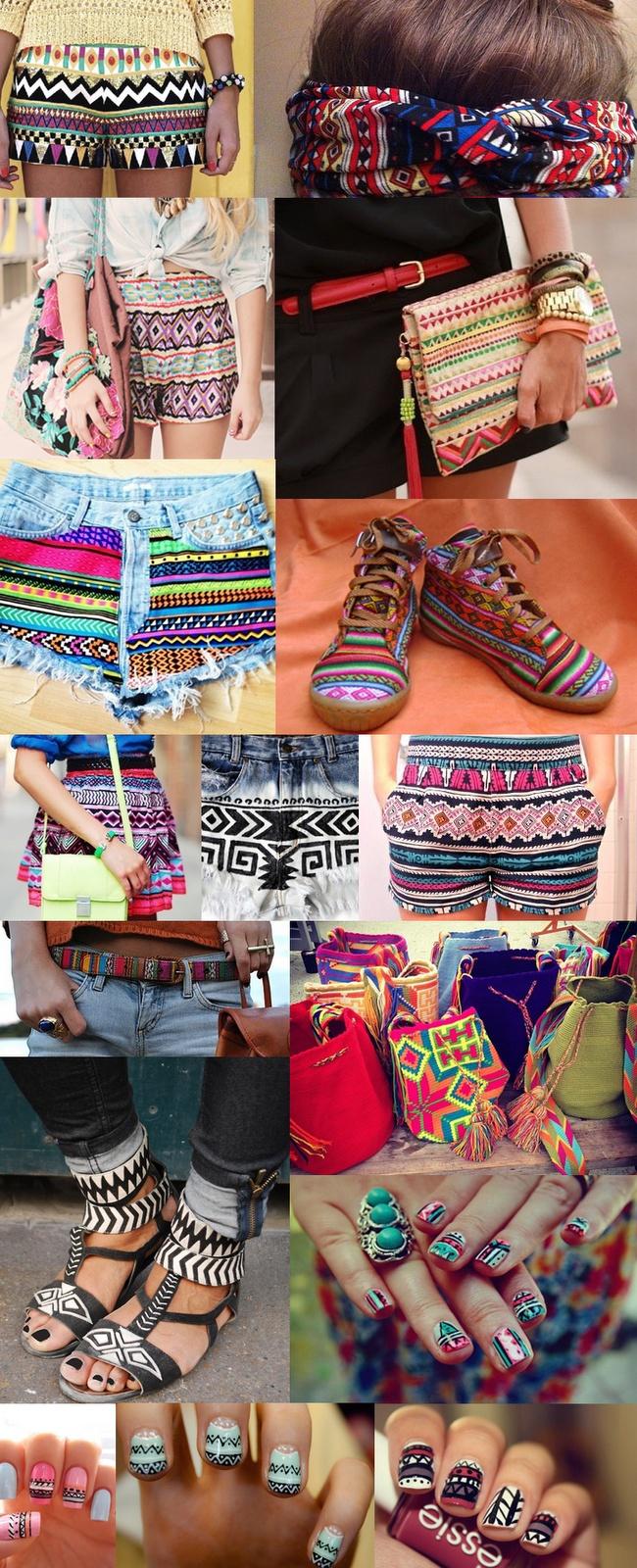Amo Moda Blog - Estampa étnica
