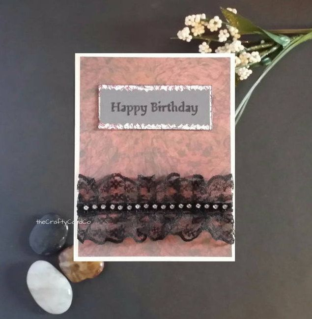Goth Birthday Card Gothic Birthday Card Gothic Greeting Card Victorian Greeting Card Victorian Birthday Card Creepy Birthday Creepy Cute Birthday Cards Gothic