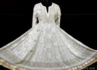 Long Tunic with Chikankari Embroidery