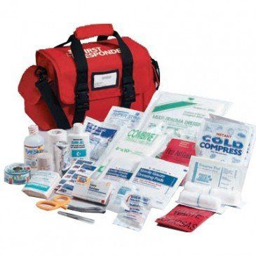 Deluxe First Responder First Aid Kit - SOFT CASE by Saratoga Farms. $157.00. Our comprehensive responder kit contains the essential first aid supplies you need in a medical emergency. Plus, there is still room for your own personal medical supplies.
