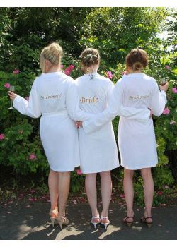 Personalised Bridesmaid Dressing Gowns