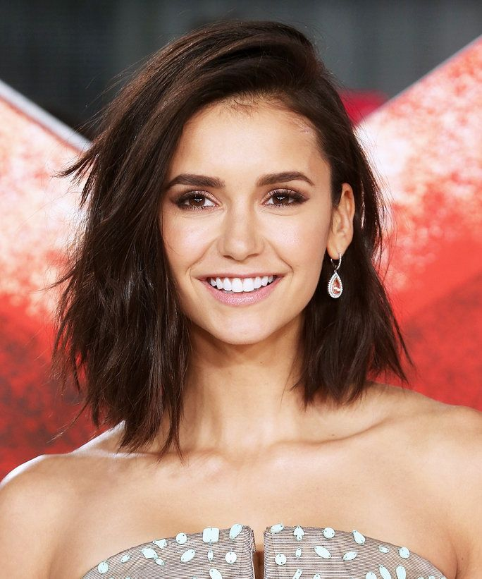 Nina Dobrev new haircut 2017