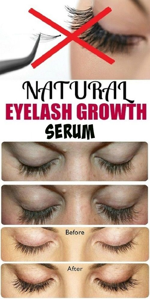 NATURAL eyelash growth seum