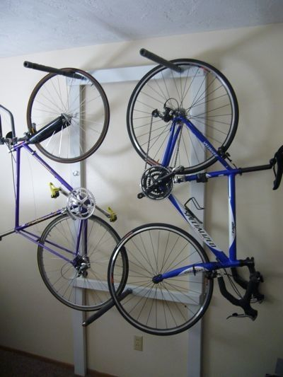 Bike Rack idea - Apartment Therapy