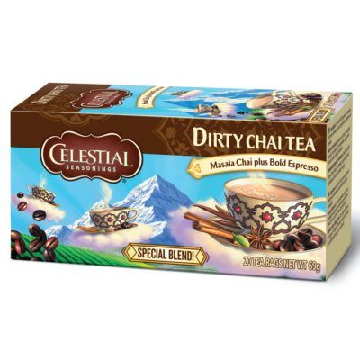 Celestial Seasonings Dirty Chair Tea: Masala Chair with Espresso