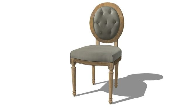 89 best images about sketchup components on pinterest models armchairs and - Maison du monde chaise louis ...