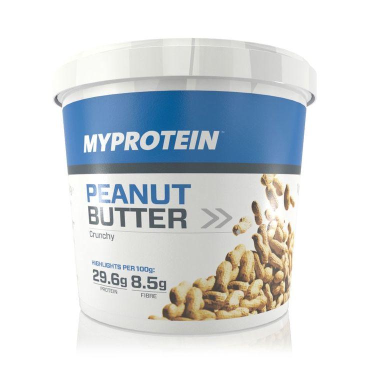 Arašidové maslo 1000g - Myprotein - Fitness jedlo