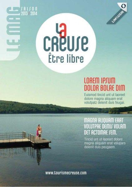 Couverture du magazine départemental de La Creuse