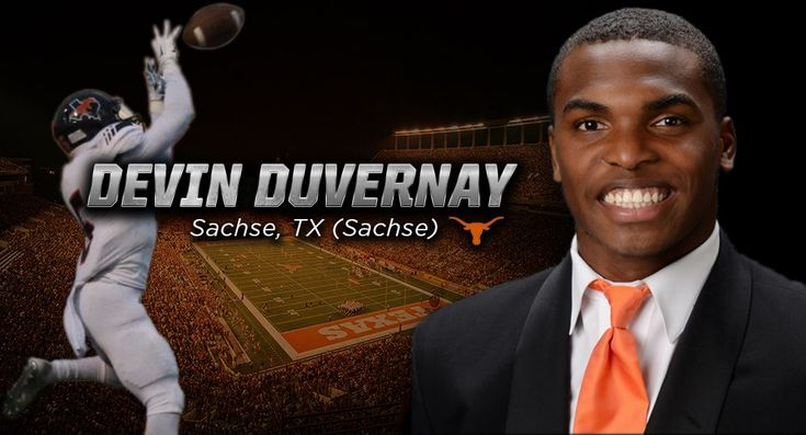 An All-American wide receiver and state champion sprinter from Sachse, Texas, Duvernay has signed a financial aid agreement with the Longhorns.