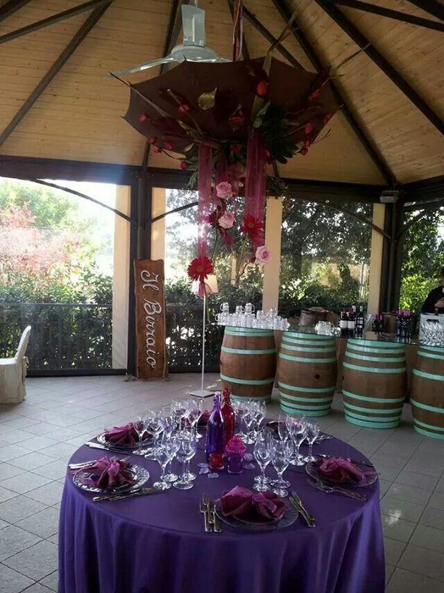 Wedding#matrimonio#ombrello centro tavola#fiori#creazioni esclusive Le fiore& le piante del Maggy#
